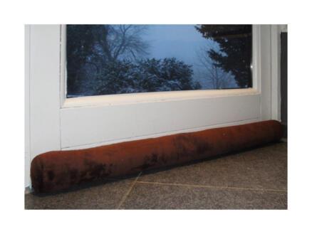Pillow boudin de porte 90cm 8cm brun