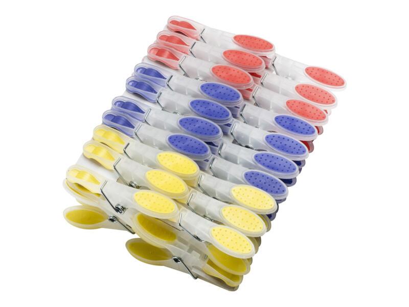 Pinces à linge PVC 40 pièces