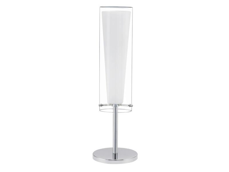Eglo Pinto lampe de table E27 60W blanc