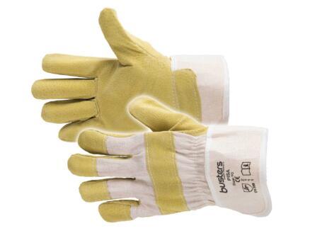 Busters Pisa werkhandschoenen XL leer geel