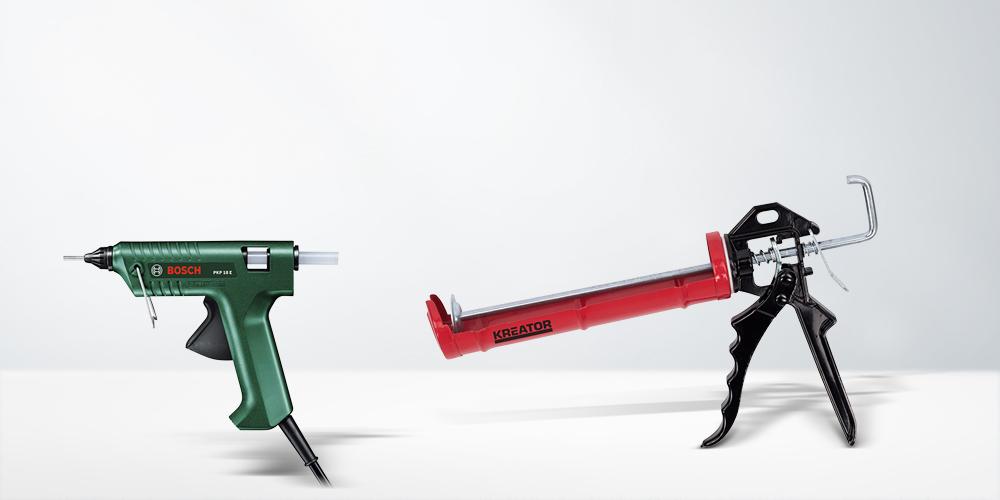 Pistolets à colle