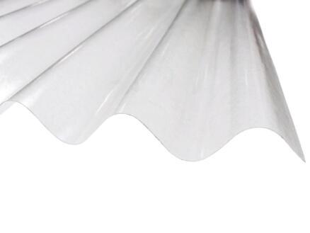 Scala Plaat polyester 213x90 cm transparant