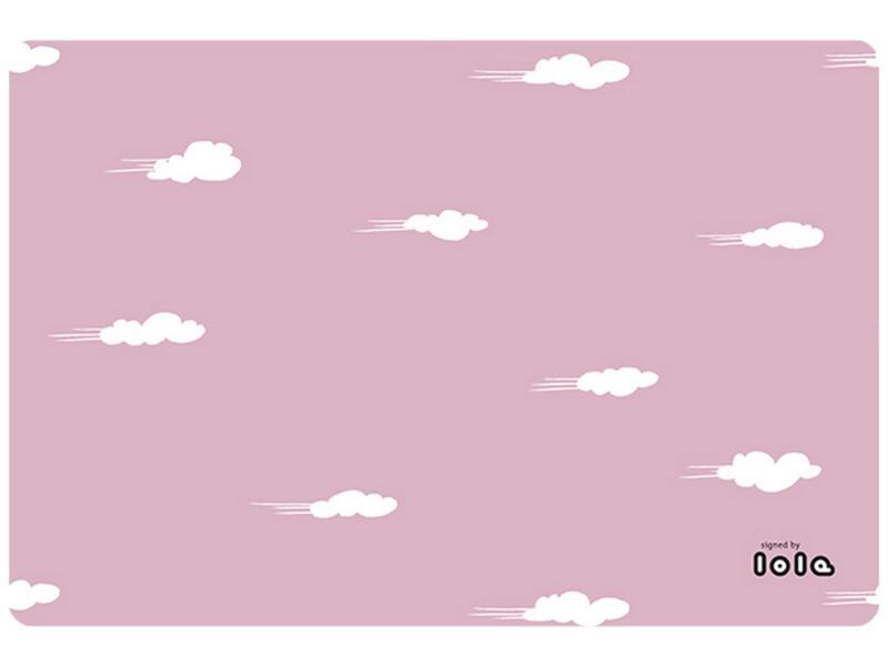 Lola Placemat antislip 45x30 cm daydream misty pink