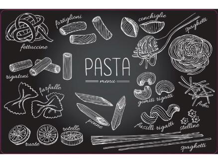 Placemat antislip 45x30 cm pasta