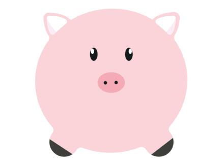 Finesse Placemat rond 38cm varken