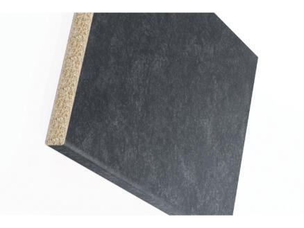 Plan de travail W303 250x60x3 cm granit noir