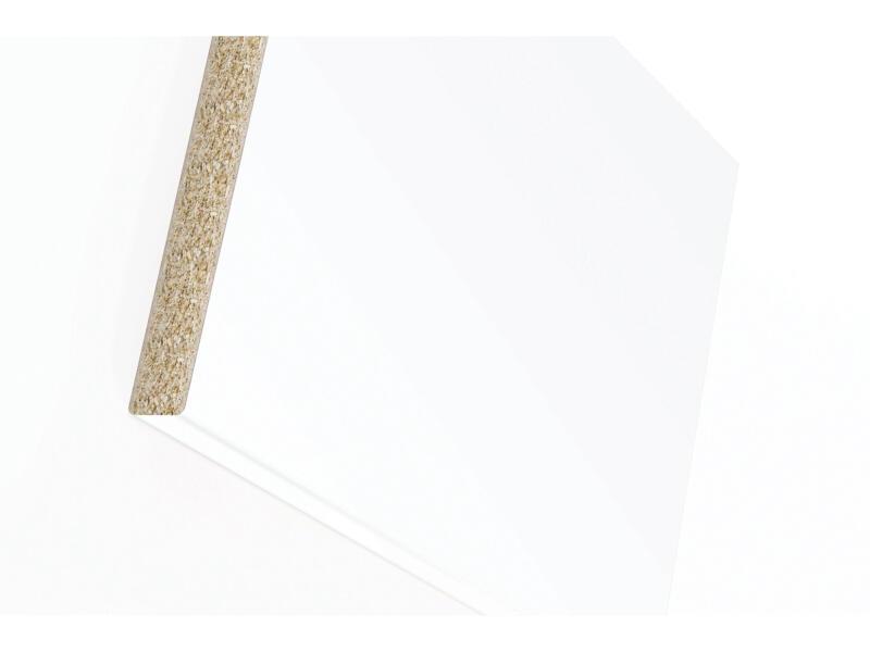 Plan de travail W403 305x60x4 cm ice white