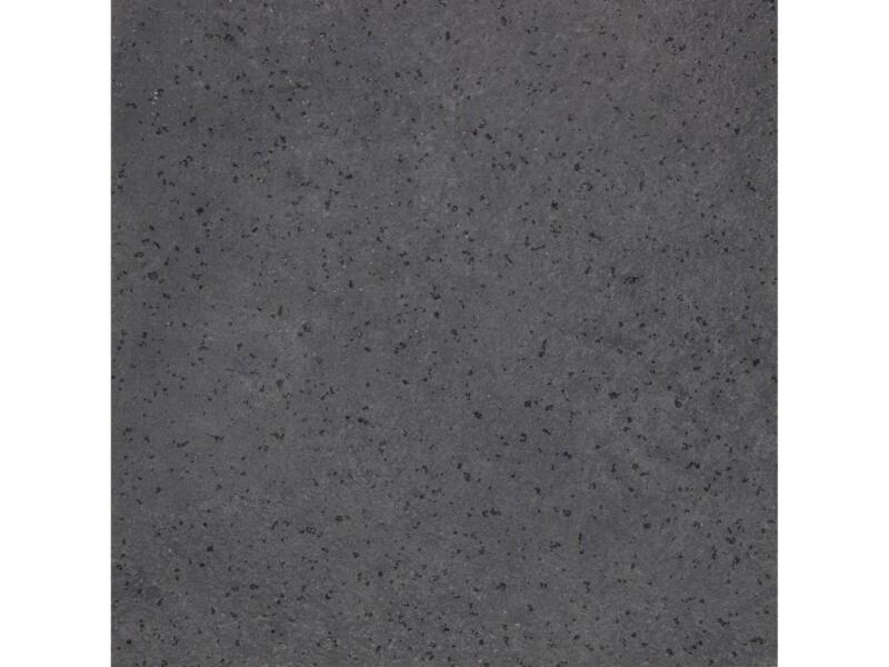 Plan de travail droit 305x64x4 cm gris foncé