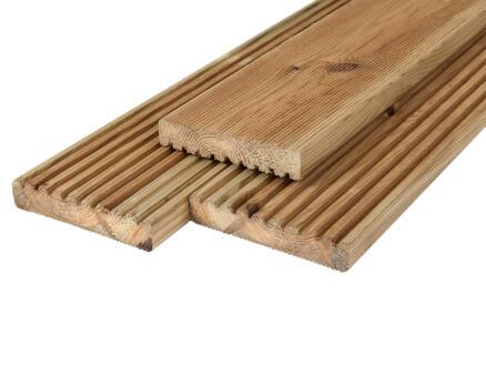 Planche de terrasse 240x14,5x2,8 cm pin