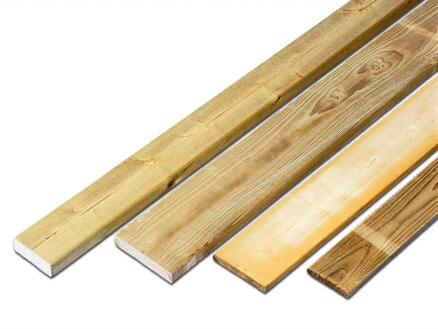 Plank 270x4,5x6,8 cm grenen