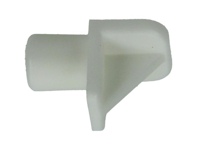 Plankdrager 6mm wit 20 stuks
