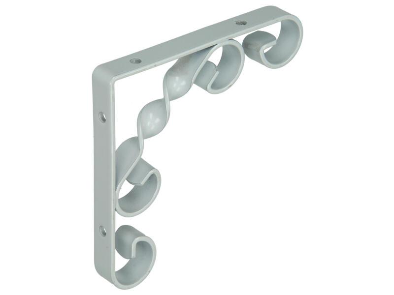 Plankdrager gedraaid 115x115 mm wit