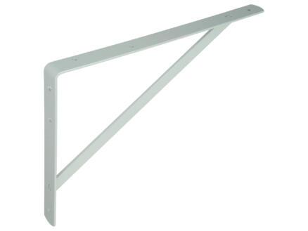 Plankdrager versterkt 250x400 mm wit