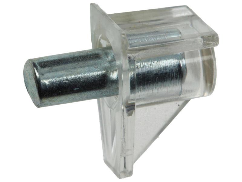 Plankdragers transparant 5mm 12 stuks
