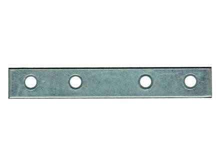 Pgb-fasteners Plaque d'assemblage 100x16x2 mm 8 pièces