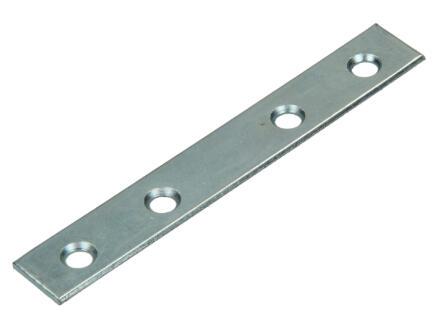 Pgb-fasteners Plaque d'assemblage 125x16 mm 20 pièces
