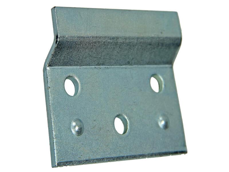 Plaque de suspension armoire 47x60 mm 2 pièces