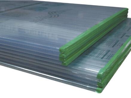 Scala Plaque double paroi 300x98 cm 16mm PVC transparent