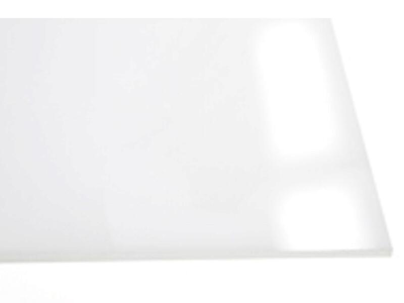 Scala Plaque lisse 100x200 cm 2,5mm polystyrène opale