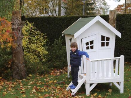 Gardenas Plateforme pour cabane enfant lutin imprégné
