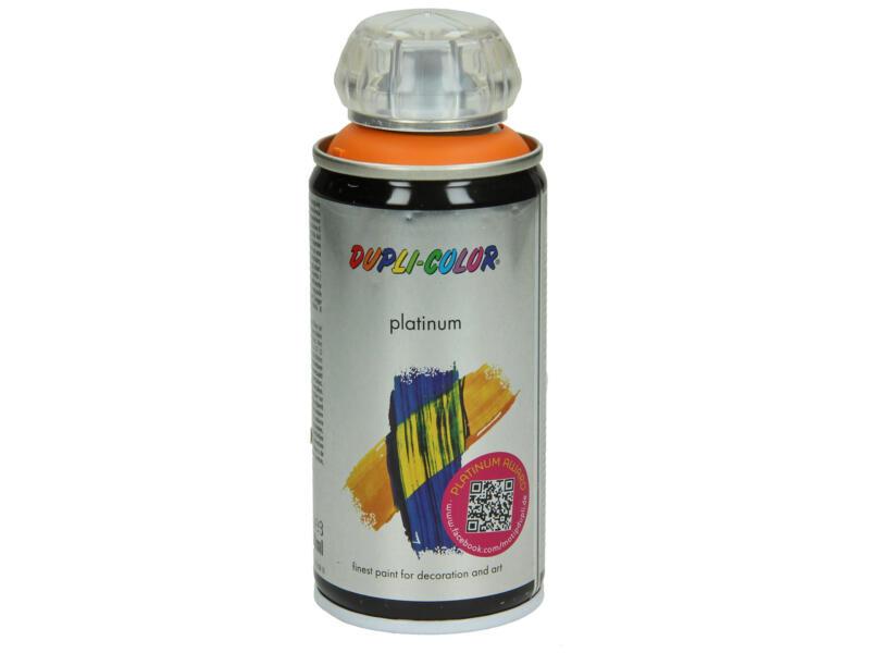 Dupli Color Platinum lakspray hoogglans 0,15l pasteloranje