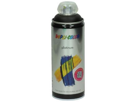 Dupli Color Platinum lakspray zijdeglans 0,4l gitzwart