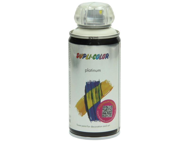 Dupli Color Platinum laque en spray brillant 0,15l blanc crème