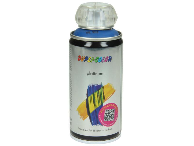 Dupli Color Platinum laque en spray brillant 0,15l bleu gentiane
