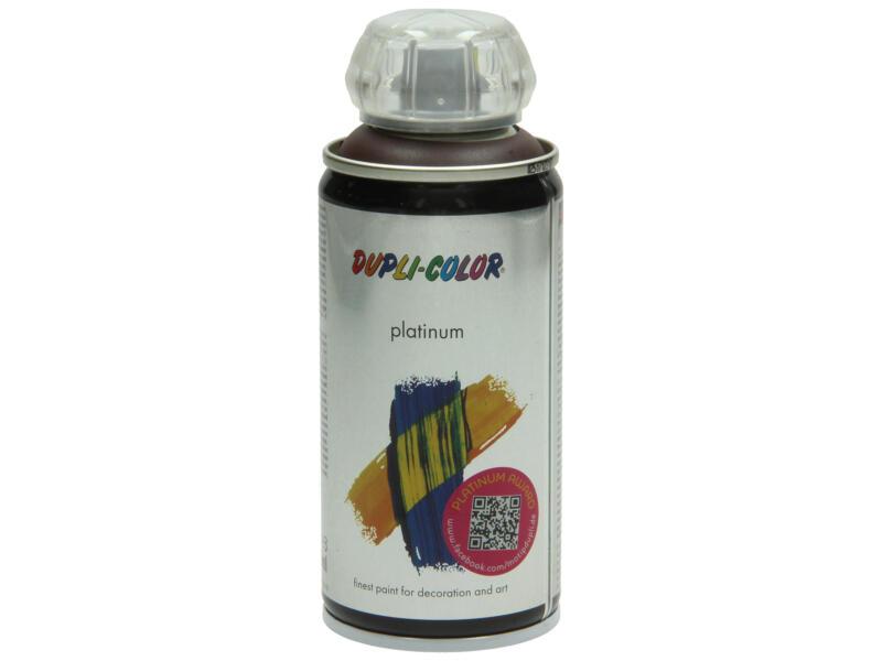 Dupli Color Platinum laque en spray brillant 0,15l brun chocolat