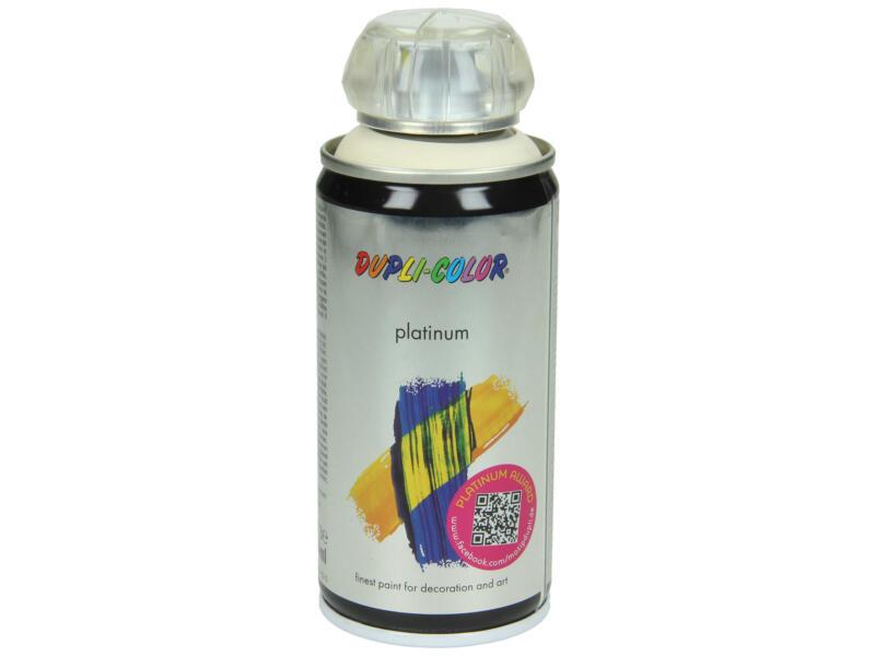 Dupli Color Platinum laque en spray brillant 0,15l ivoire clair