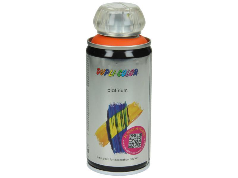 Dupli Color Platinum laque en spray brillant 0,15l orange signalisation