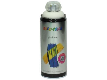 Dupli Color Platinum laque en spray satin 0,4l blanc pur