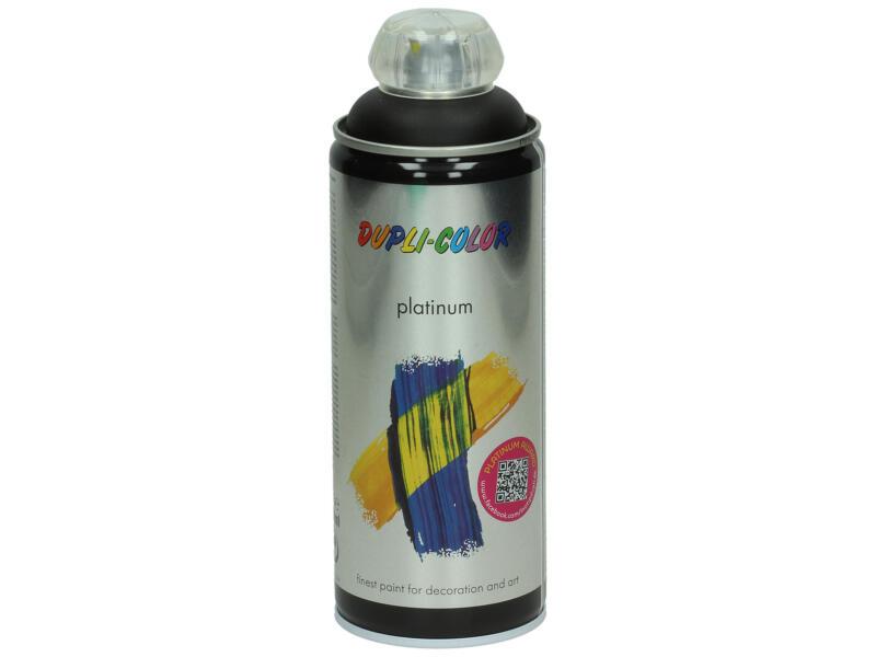 Dupli Color Platinum laque en spray satin 0,4l noir foncé
