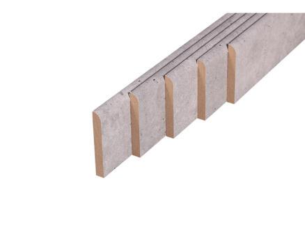 Plint 68x9 mm 200cm beton