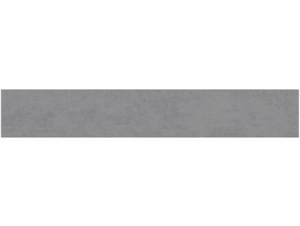 Plint Nuvola 7,2x45 cm grijs 5 stuks
