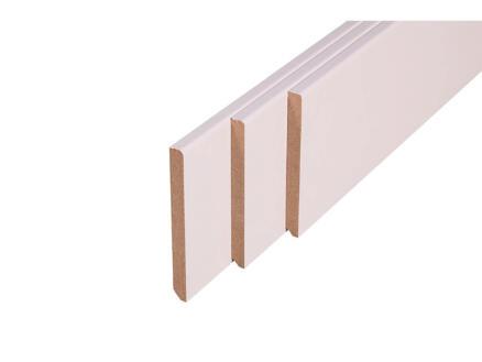 Plinthe 100x10 mm 220cm blanc