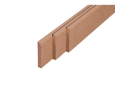 Plinthe 68x9 mm 220cm brun
