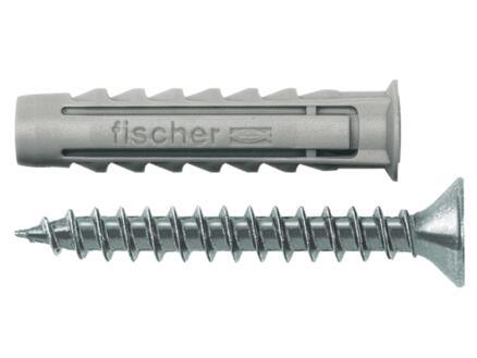 Fischer Plug 10mm met vijs SX10SK 4 stuks