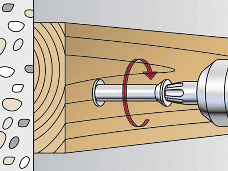 Fischer Plug met haak SXR 8x60 WHK