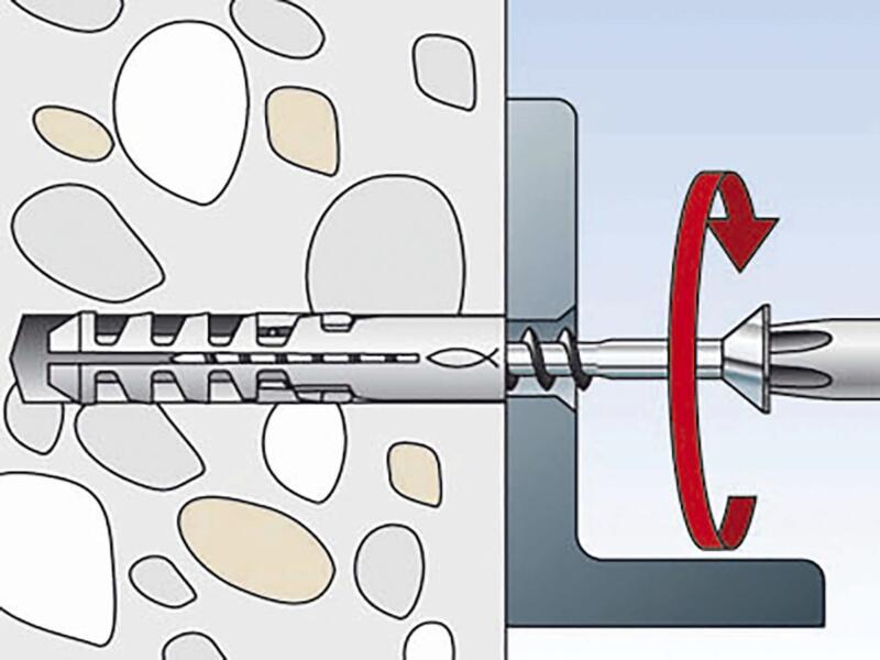 Fischer Plug met oogvijs SB8/7K