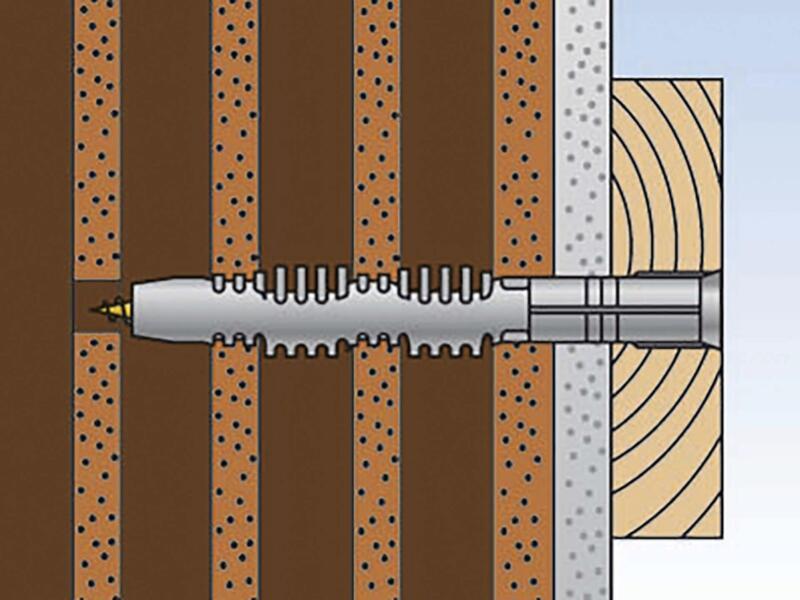 Fischer Plug met schroef FUR 10x135 TK