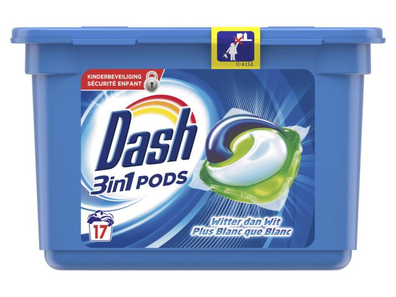 Dash Pods 3-en-1 capsule lessive 17 tabs
