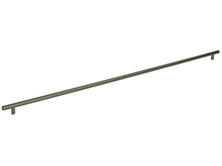 Poignée barre 12mm 775-835 mm mat
