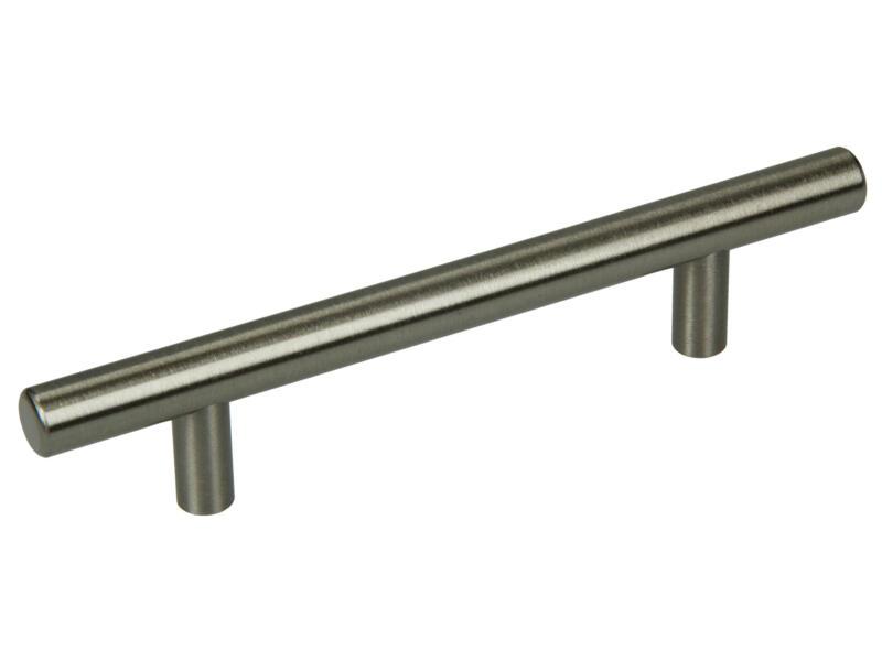Sam Poignée barre 12mm 96-156 mm mat