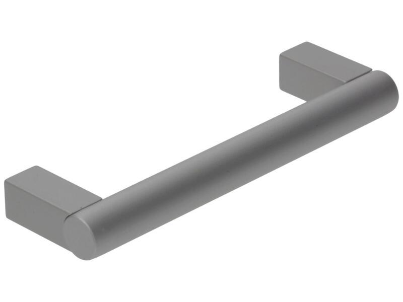 Sam Poignée barre carrée 96mm 12mm aluminium
