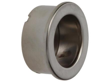 Sam Poignée cuvette ronde 30mm nickel