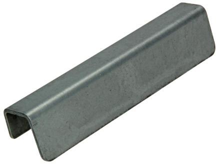 Sam Poignée de meuble  Linea 96mm mat acier