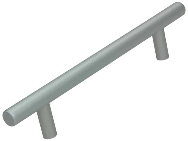Sam Poignée de meuble 128mm aluminium argent mat