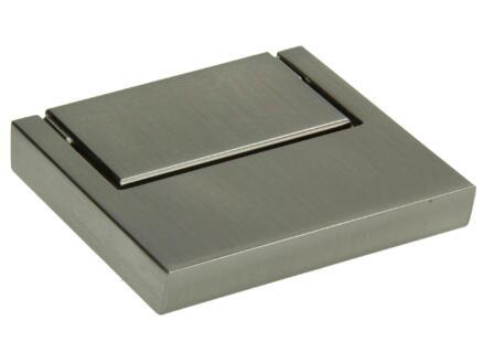 Poignée de meuble 52x52 mm mat