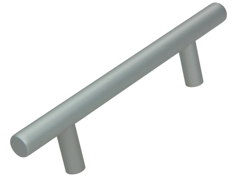 Sam Poignée de meuble 96mm aluminium argent mat